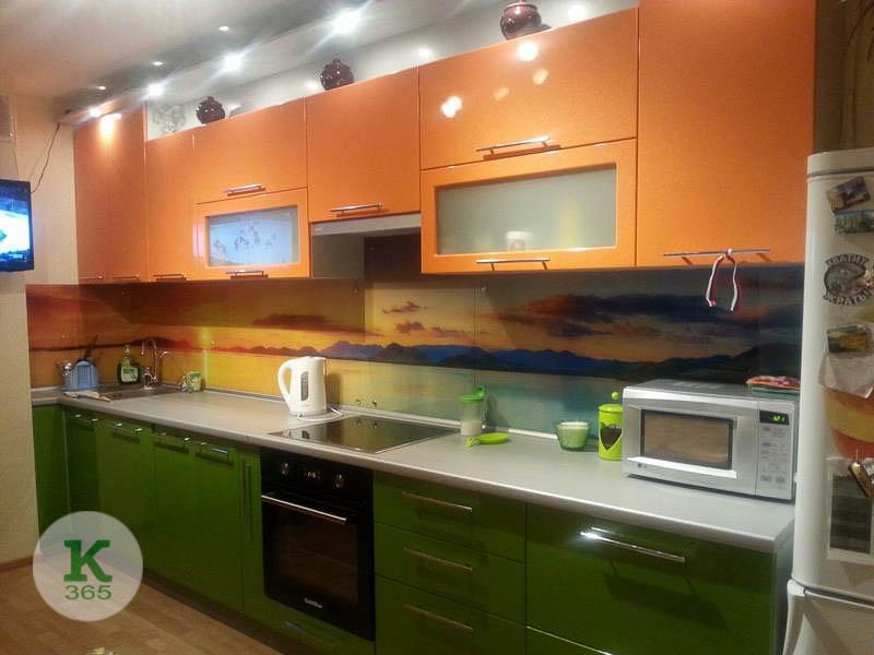 Оранжевая кухня Северо артикул: 20610456