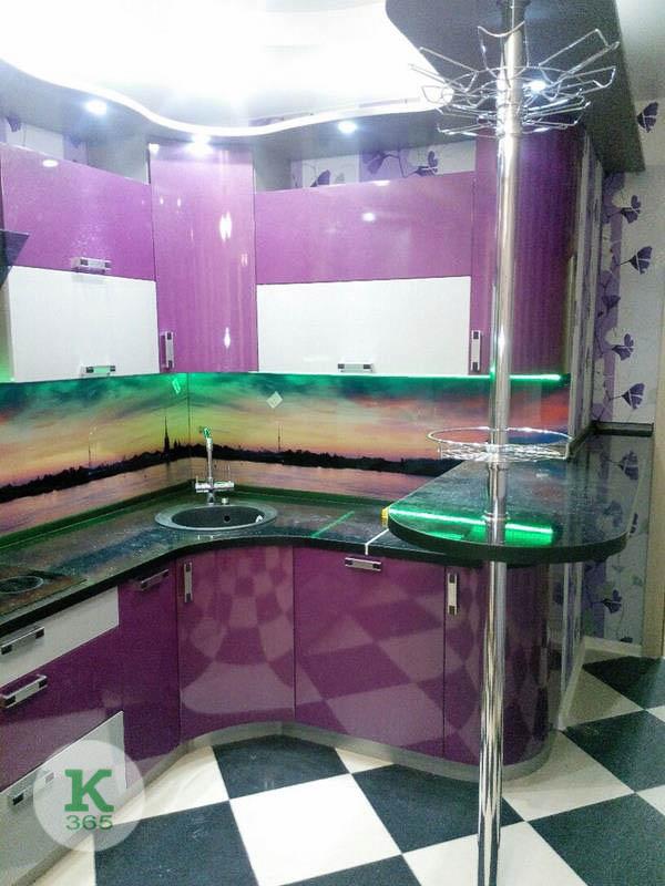 Фиолетовая кухня Матиу артикул: 20629620
