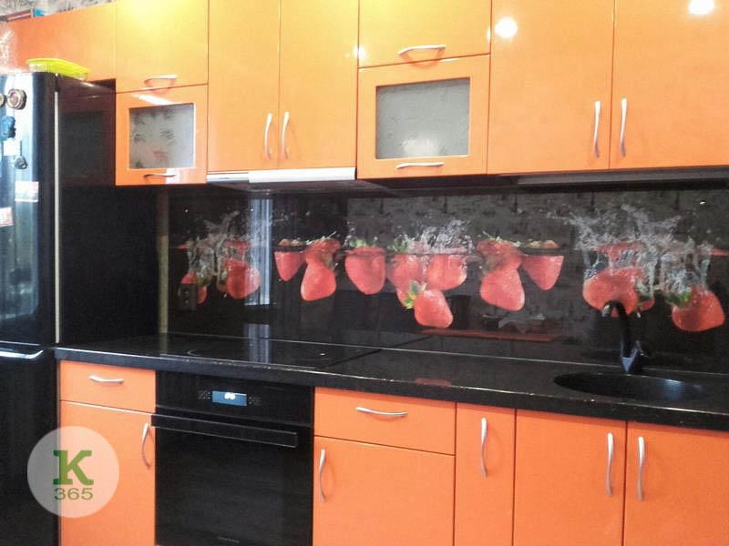 Оранжевая кухня Невайо артикул: 20733964