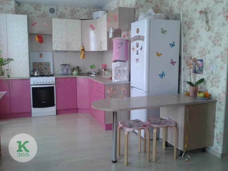 Розовая кухня Франко артикул: 20898916