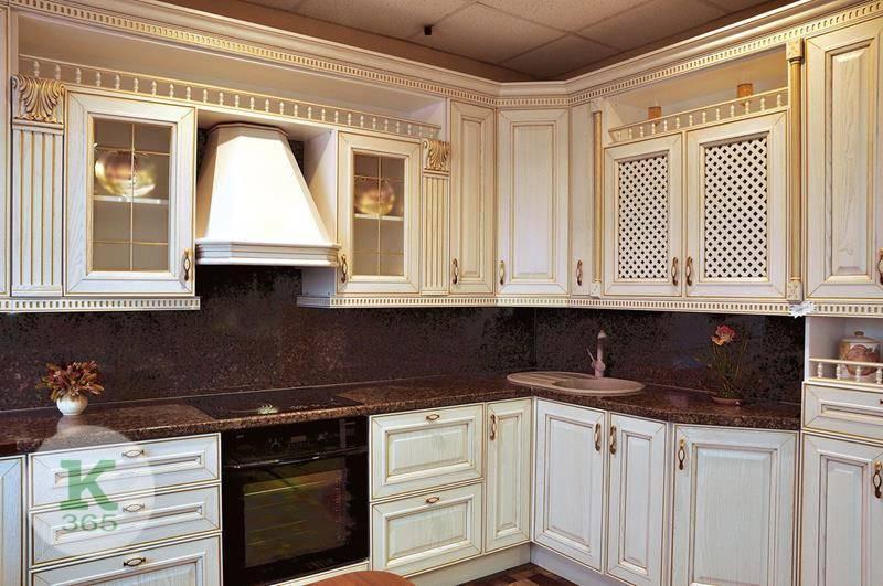 Кухня белая с золотом Этника артикул: 169362
