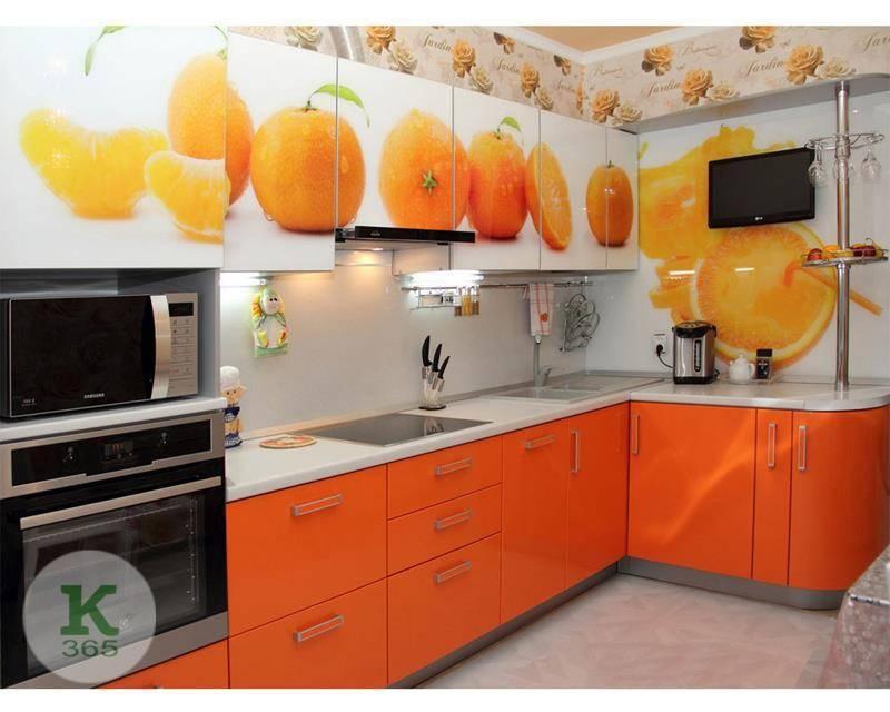 Оранжевая кухня Альфа артикул: 199712
