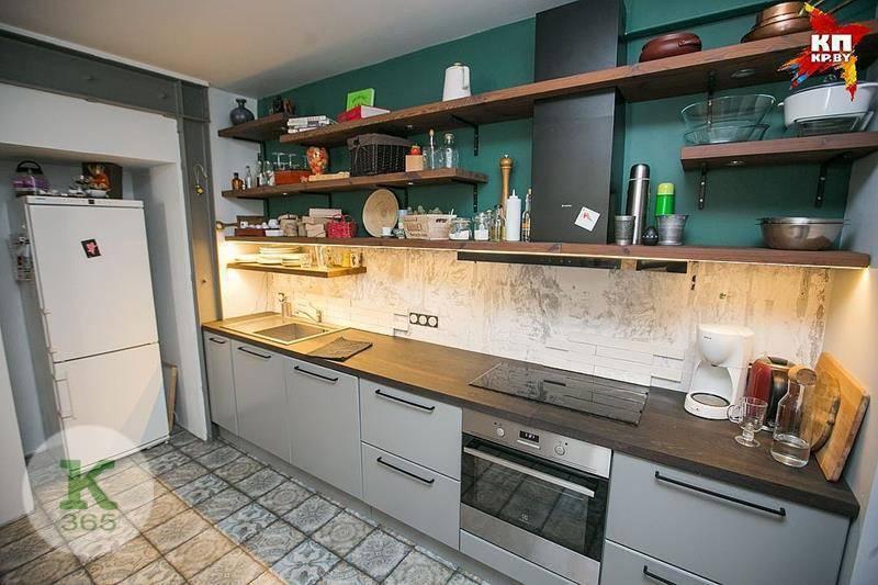 Кухня без верхних шкафов Цитрус артикул: 221778