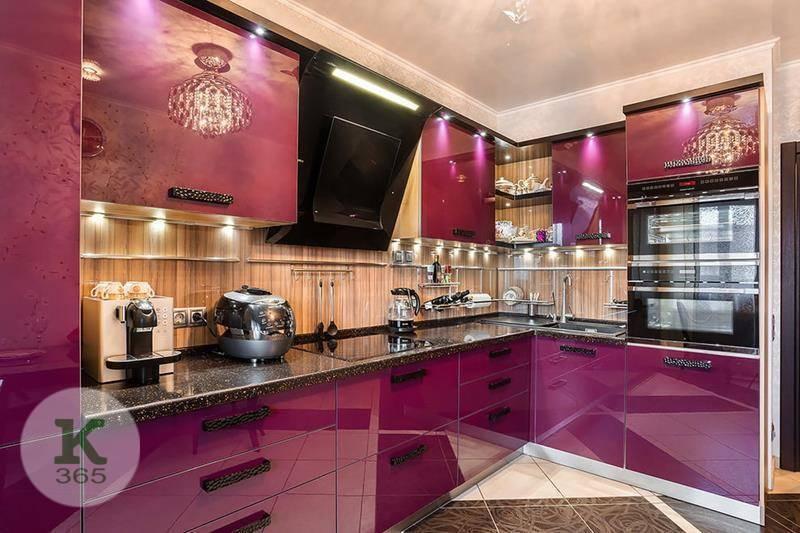 Лиловая кухня Иоланта Квадро артикул: 368941