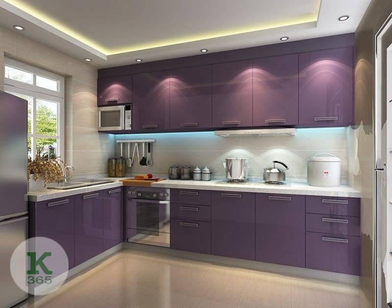 Лиловая кухня Брера Квадро артикул: 374113