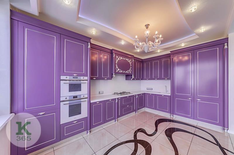 Лиловая кухня Борго Квадро артикул: 378450