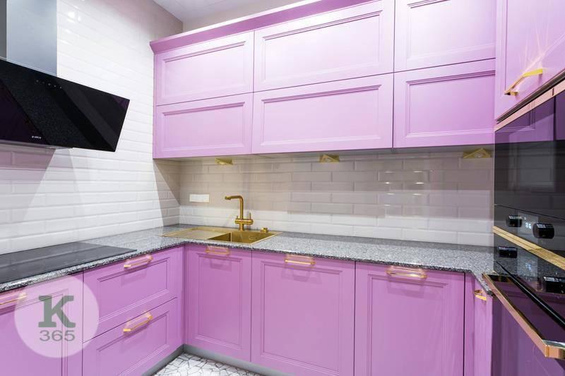 Лиловая кухня Олса Квадро артикул: 379321