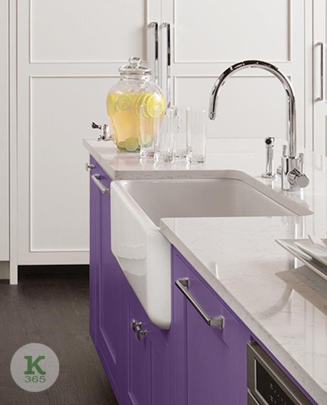 Лиловая кухня Йорк Квадро артикул: 381938