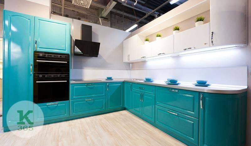 Бирюзовая кухня Сити Лея артикул: 48361