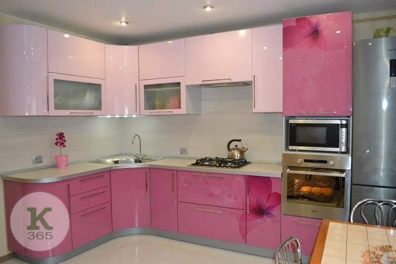 Розовая кухня Столплит Квадро артикул: 486098